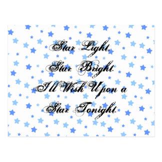 Star Light, Star Bright Postcard