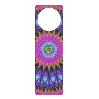 Star mandala door knob hangers