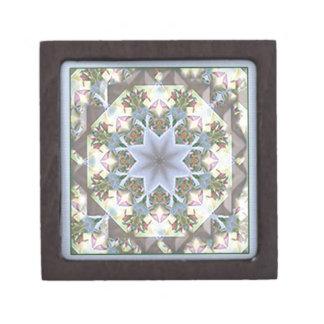 Star Mandala Small Keepsake Box Premium Keepsake Box