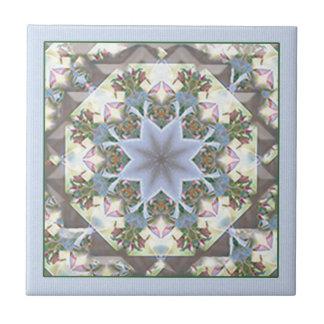 Star Mandala Tile Trivet/Lavender