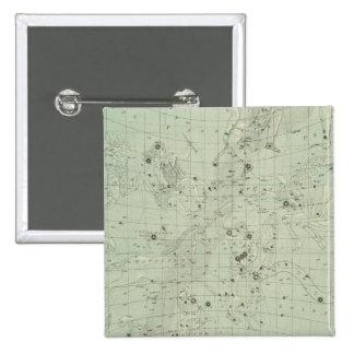 Star map 15 cm square badge