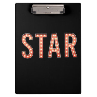 STAR Marquee Lights Clipboard