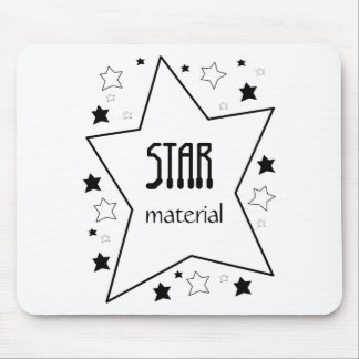 Star Material Mouse Pad