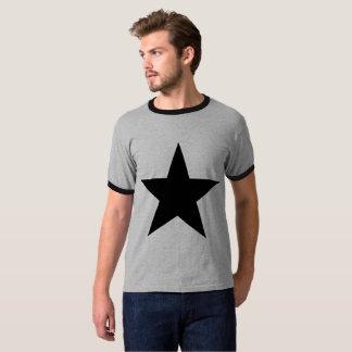Star / Men's Basic Ringer T-Shirt