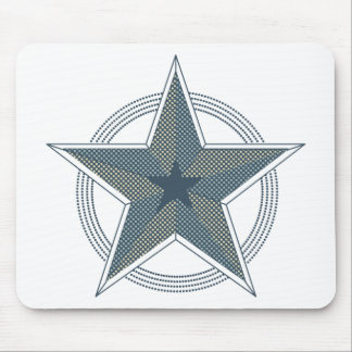 star mouse pad