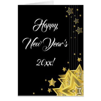 Star New Year's Eve | Greeting Card