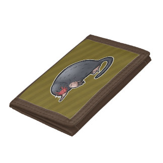 Star Nosed Mole Tri-fold Wallet