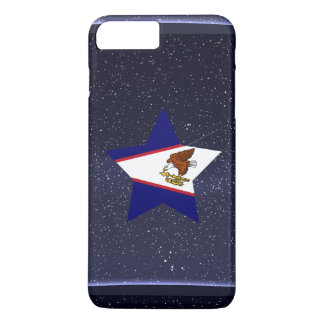 Star of American Samoa Flag iPhone 7 Plus Case