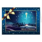 Star of Bethlehem. Customisable Christmas Card