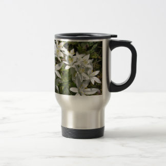 Star of Bethlehem flowers  Ornithogalum umbellatum Travel Mug