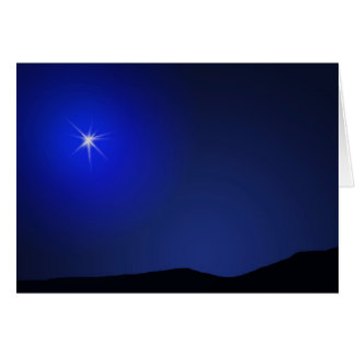Star of Bethlehem Lighting The Way Card