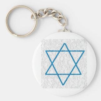 Star of Davi Key Ring