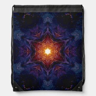 Star of David 1 Drawstring Bag