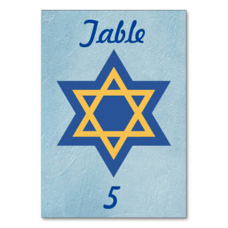 Star of David Blue Card