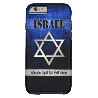 Star of David Blue & Silver Tough iPhone 6 Case