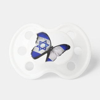 Star of David Butterfly Baby Pacifiers