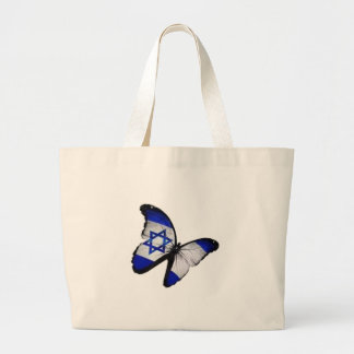 Star of David Butterfly Large Tote Bag