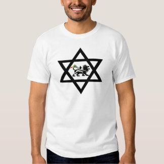star of David c Lion of Judá Shirts