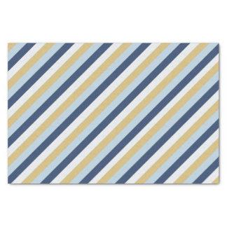 Star of David | Cute Hanukkah Striped Pattern Tissue Paper