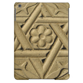 Star Of David Engraved In Stone - Judaism Cover For iPad Air