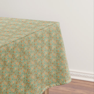 Star of David Green Gold Tablecloth