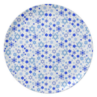 Star of David Hanukkah Plate