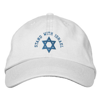 Star of David I Stand With Israel Baseball Cap