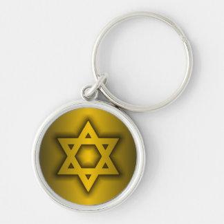 Star of David Key Ring