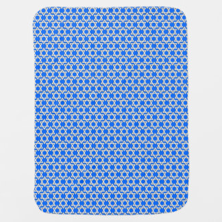 Star of David Pattern Baby Blanket