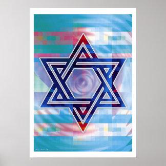 Star of David Poster