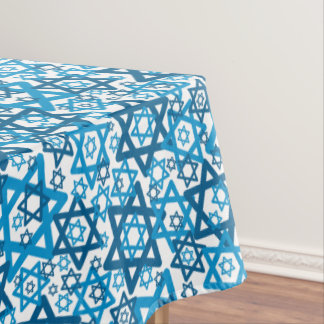 Star of David Random Tablecloth