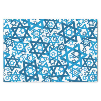 Star of David Random Tissue Paper