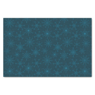 Star of David Snowflakes Tissue Paper