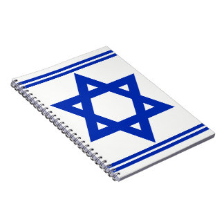 Star of David Spiral Notebooks