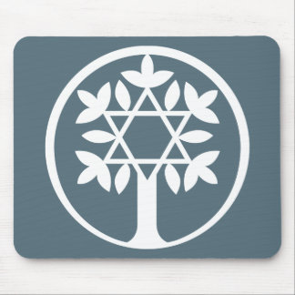 Star of David - Tree of Life Mousepad. Mouse Pad