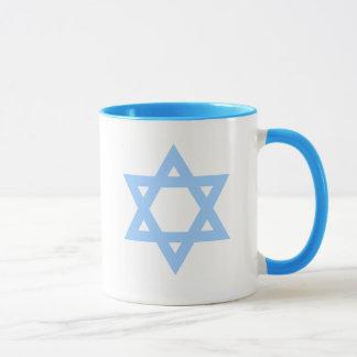 Star of David Viva Israel Coffee Mug