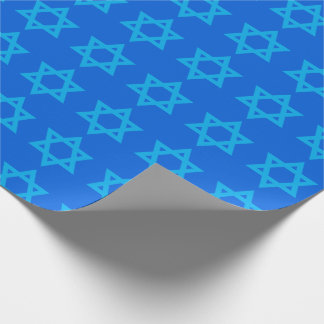"""STAR OF DAVID"" WRAPPING PAPER"