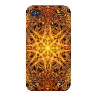 Star of Fire iPhone 4 Case
