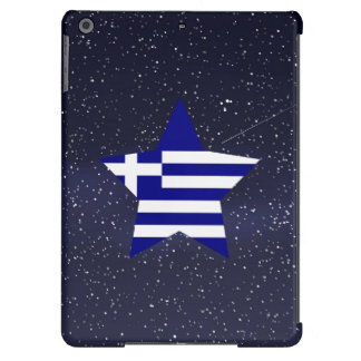 Star of Greece Flag iPad Air Cases