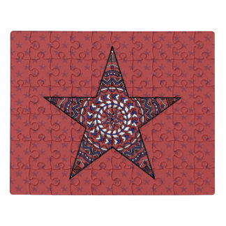 Star of Indepence Acrylic Puzzle