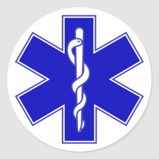 Star of Life EMS Sticker