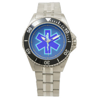 Star of Life Paramedic Emergency Medical Services Watch