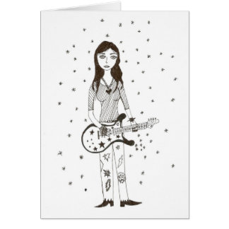 Star of Rock Card
