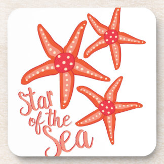 Star Of Sea Beverage Coaster