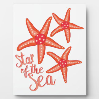 Star Of Sea Photo Plaques