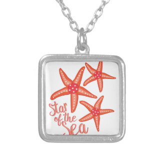 Star Of Sea Silver Plated Necklace