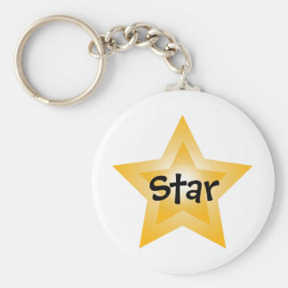 Star of the Show Key Ring