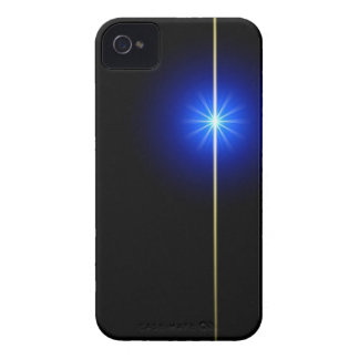 Star on Black iPhone 4 Cover