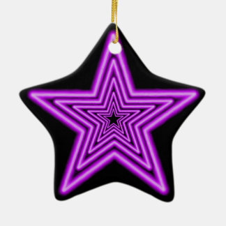 Star Ornament. Ceramic Star Ornament