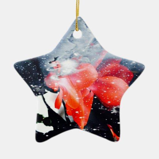 "Star ornamentation ""Christmas star "" Christmas Ornaments"